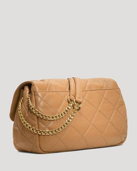 Michael Kors Shoulder Flap Bag by Michael Michael Kors Shoulder Bag Large Quilted Flap In