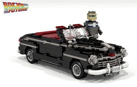 Back To The Future Ford by Lego Back To The Future Ford Deluxe Lego Designs