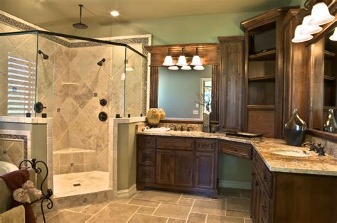 Ideas For Master Bathroom Traditional Master Bathroom Designs Decosee