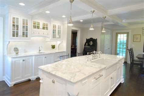 White Marble Kitchen Countertops by Baltic To Boardwalk Kitchen Counter Choices A Tutorial