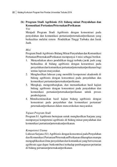 Buku Sarjana Universitas Syaitan buku katalog universitas terbuka