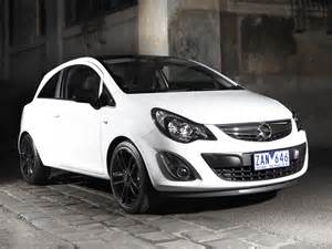 Opel Corsa Colours Opel Corsa Quot Color Edition Quot 3 Door Au Spec D 2012 13