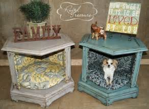 Wooden Dog Crate Table Purr Fect Diy Cat And Dog Bed Ideas Bite Sized Biggie
