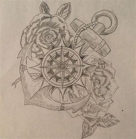 compass tattoo types different styles compass and roses on pinterest