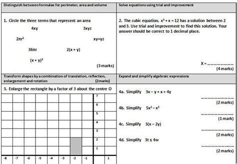 free printable english worksheets ks4 gcse maths worksheet 1 ideas for the house pinterest