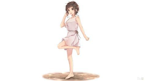 imagenes de anime vestidos fondos de pantalla anime chicas anime cabello corto