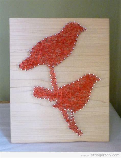 string art pattern bird love birds string art on wood string art diy free