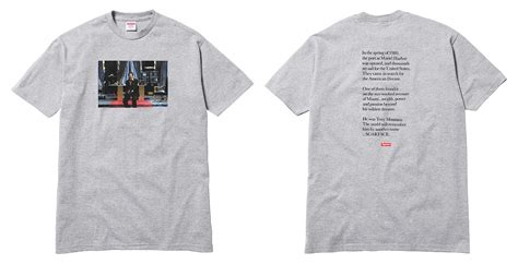 Tshirt Foret 012 la collab supreme x scarface sort ce jeudi wave 174