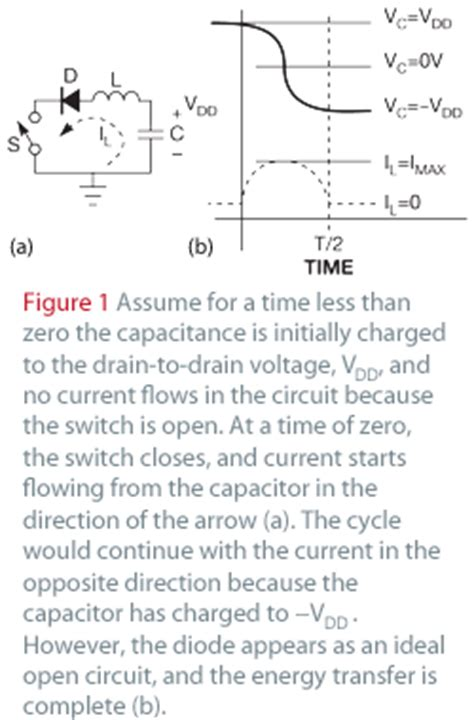charge capacitor with diode charge recovery circuit maximizes piezoelectric actuator efficiency edn