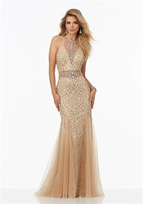 beaded prom dress fully beaded prom dress featuring caviar beading style