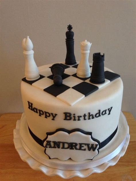 chess board cake pasteles chess cake cake boys  birthday cake