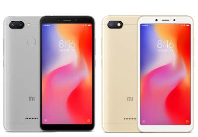 xiaomi redmi 6 and redmi 6a launched in philippines