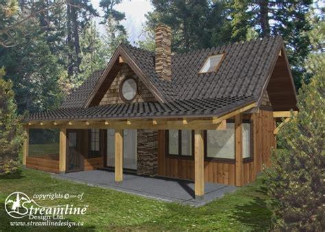 Chelwood Cabin Timber Frame Plans 695sqft Streamline | chelwood cabin timber frame plans 695sqft streamline