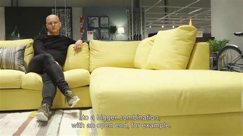 vimle ikea sofa review vimle sofa youtube