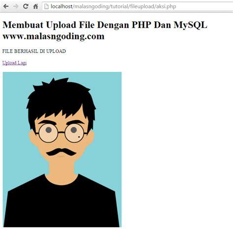 cara membuat upload dan download file dengan php upload dan download file dengan php