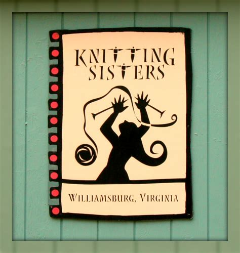 knitting signs living in williamsburg virginia september 2011