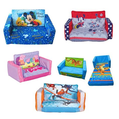 children s couch bed choose from childrens inflatable or foam flip out sofa
