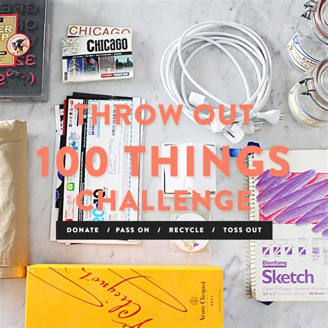 100 things challenge throw out 100 things challenge jess lively