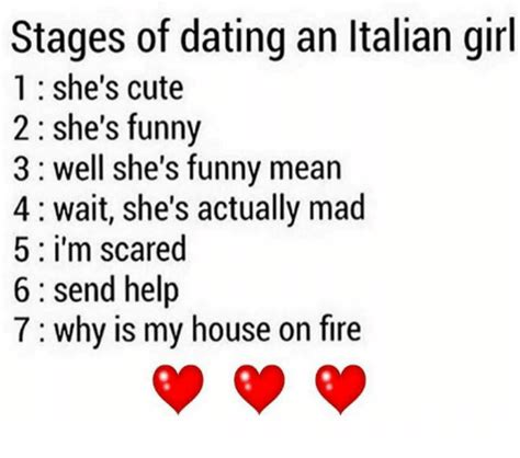 Cute Dating Memes - stages of dating an italian girl 1 she s cute 2 she s