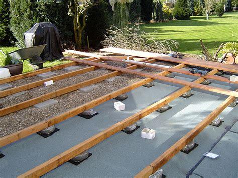 holz überdachung terrasse terrasse holz unterkonstruktion bauanleitung bvrao