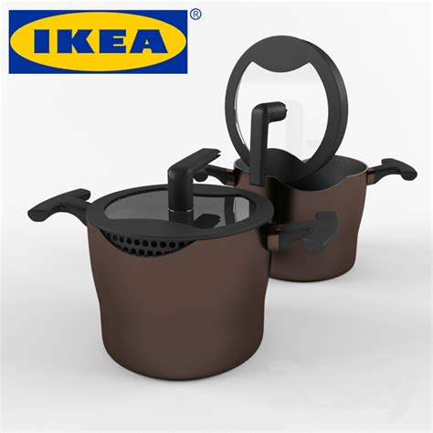 Ikea Kitchen Catalog 3d models other kitchen accessories casserole ikea