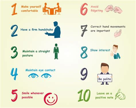 Writer S Chair simple body language tips for your next job interview