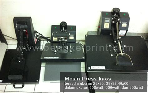 Mesin Digital Printing Kaos harga mesin sablon kaos digital printing mesin press