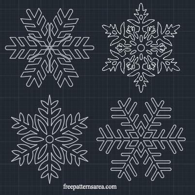 snowflake stencil vector freepatternsarea