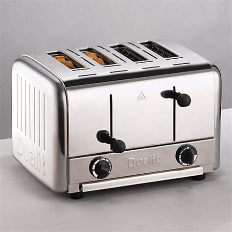 Pop Up Toaster Buy buy dualit 4 slice pop up toaster stainless steel