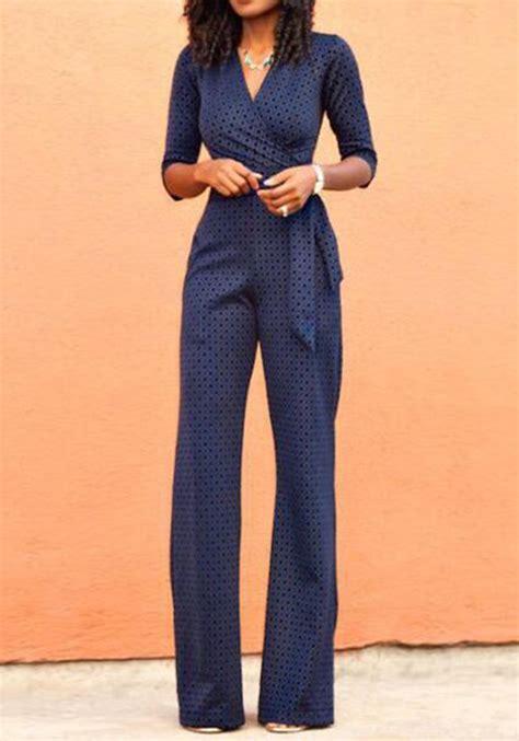 high waist jumpsuit navy blue floral belt high waisted jumpsuit