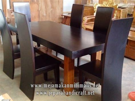 desain meja makan kayu best seller set meja makan kayu trembesi harga termurah