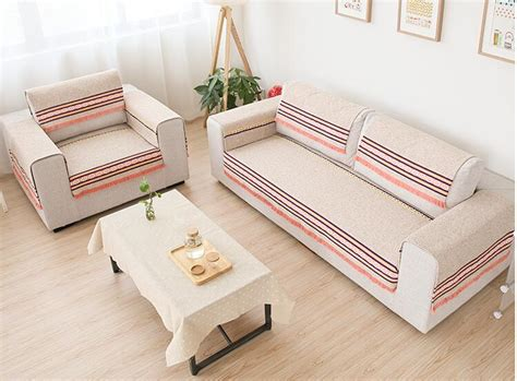 Single Seat Sofa Covers by 70cm Cotton Sofa Towel Sectinal Sofa Cover Slip Resistant
