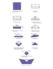 How To Make Paper Ship - origami scenic origami boat origami