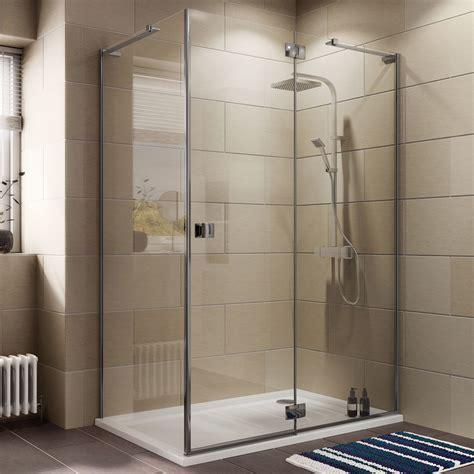 Cooke & Lewis Luxuriant Rectangular Shower enclosure, tray