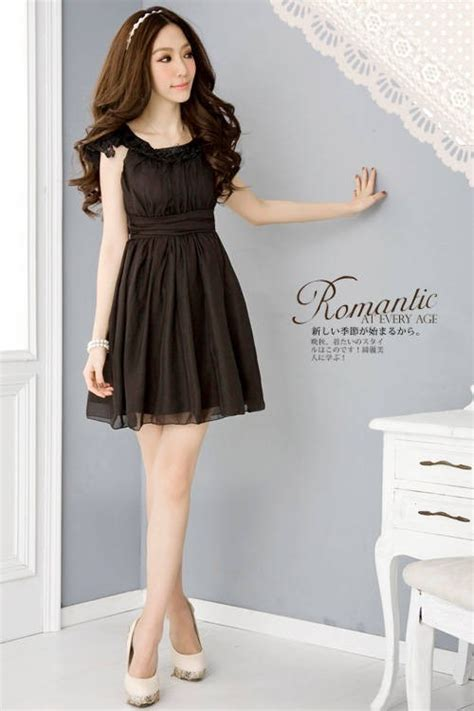 Dress Hitam pendek dress pesta hitam gaun import putih gaun pesta