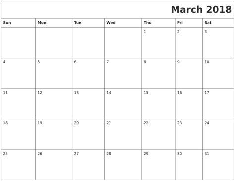 printable calendar april 2018 to march 2019 march 2018 printable calender