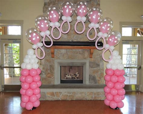 Baby Shower Balloon Arch by The Gallery For Gt How To Make A Baby Shower Balloon Arch