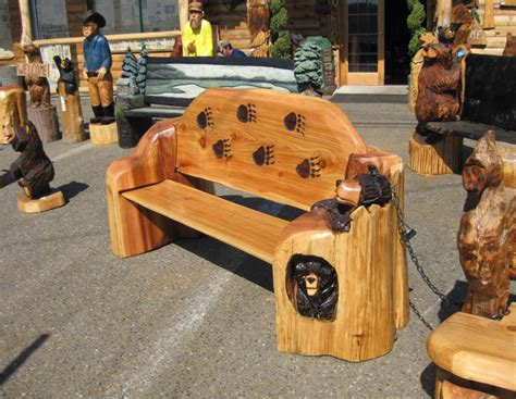 carved wooden benches woodwork best wood carving bench carved bench pdf plans