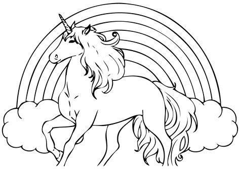 In Coloring Book 14 unicorn coloring pages print color craft