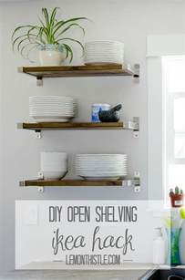 Small Bathroom Etagere Diy Open Shelving For Our Kitchen Lemon Thistle