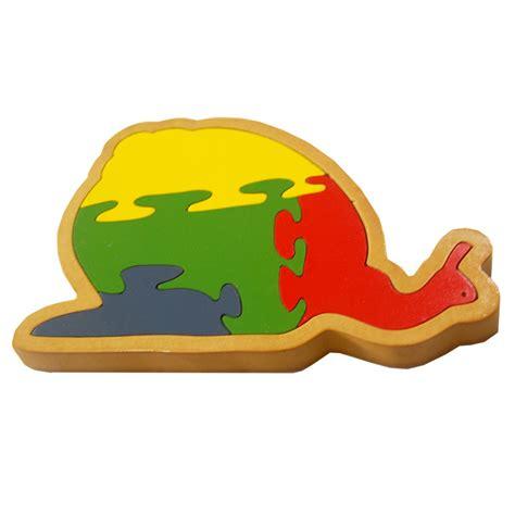 Puzzle Kayu 4 mainan kayu puzzle siput