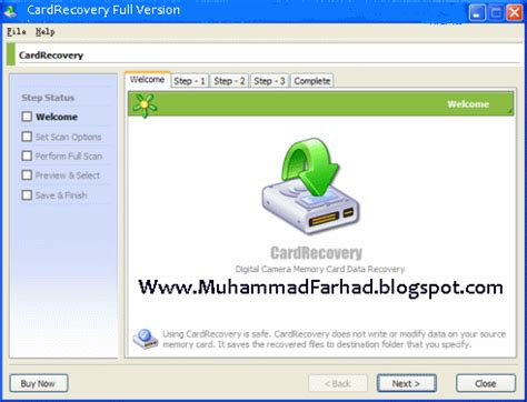 free full version recovery software download for memory card cardrecovery 6 10 full version free download latest tips