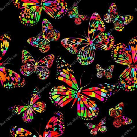 Imagenes Vectoriales Mariposas   mariposas colores acuarelas archivo im 225 genes vectoriales