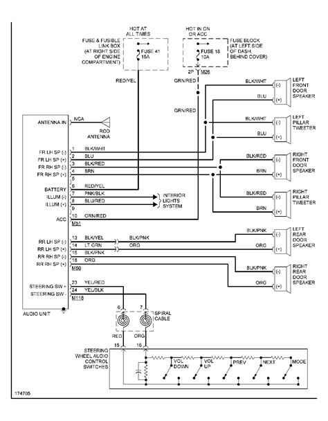 nissan xterra audio wiring diagram wiring diagram manual