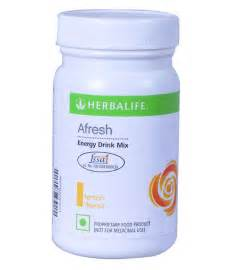 Afresh herbalife afresh energy drink mix lemon flavor available