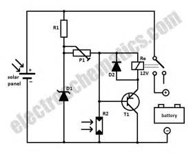 mobile tips solar panel battery switch schematic