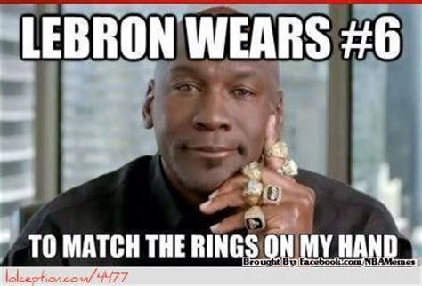 Lebron Jordan Meme - top funny nba memes of the season