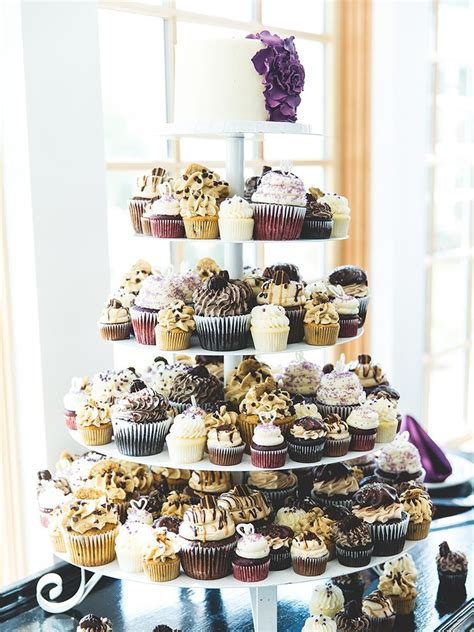 Cupcake Wedding Cake by 16 Wedding Cake Ideas With Cupcakes