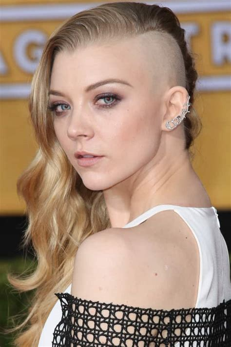 natalie dormer shave natalie dormer debuts react now the