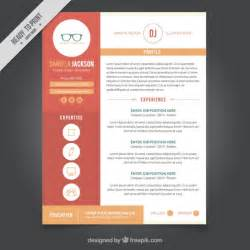 Graphic Resume Templates Free by Graphic Design Resume Template Vector Free